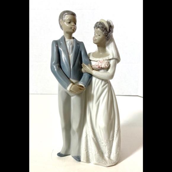 Lladro Other - Lladro Black Legacy Bride and Groom